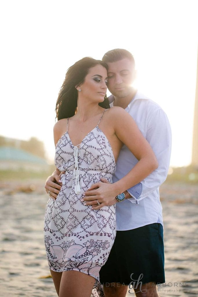 South Florida Beach Engagement   Andrea Harborne Photography
