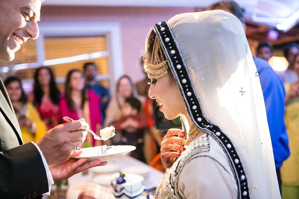 muslim indian wedding ceremony