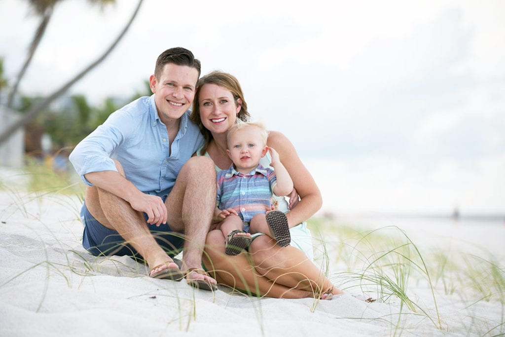 family photoshoot on fort lauderdale beach