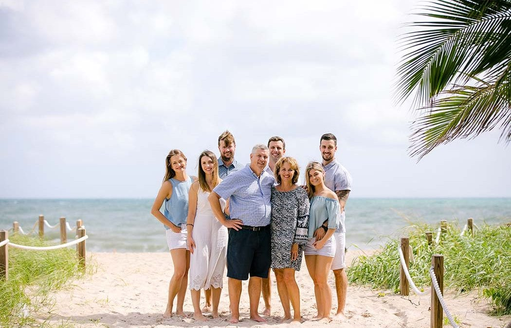 Fun Family Beach Photoshoot At Pompano Beach Family