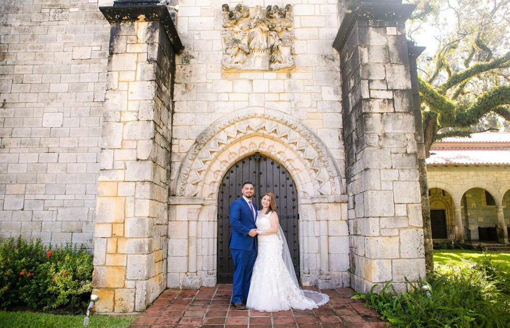 Classic Wedding At The Ancient Spanish Monestary Miami