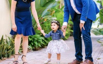 Las Olas Boulevard Family Photoshoot