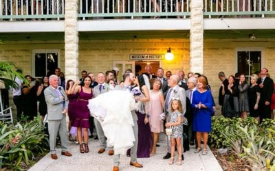 Elegant Fort Lauderdale Historical Society Wedding