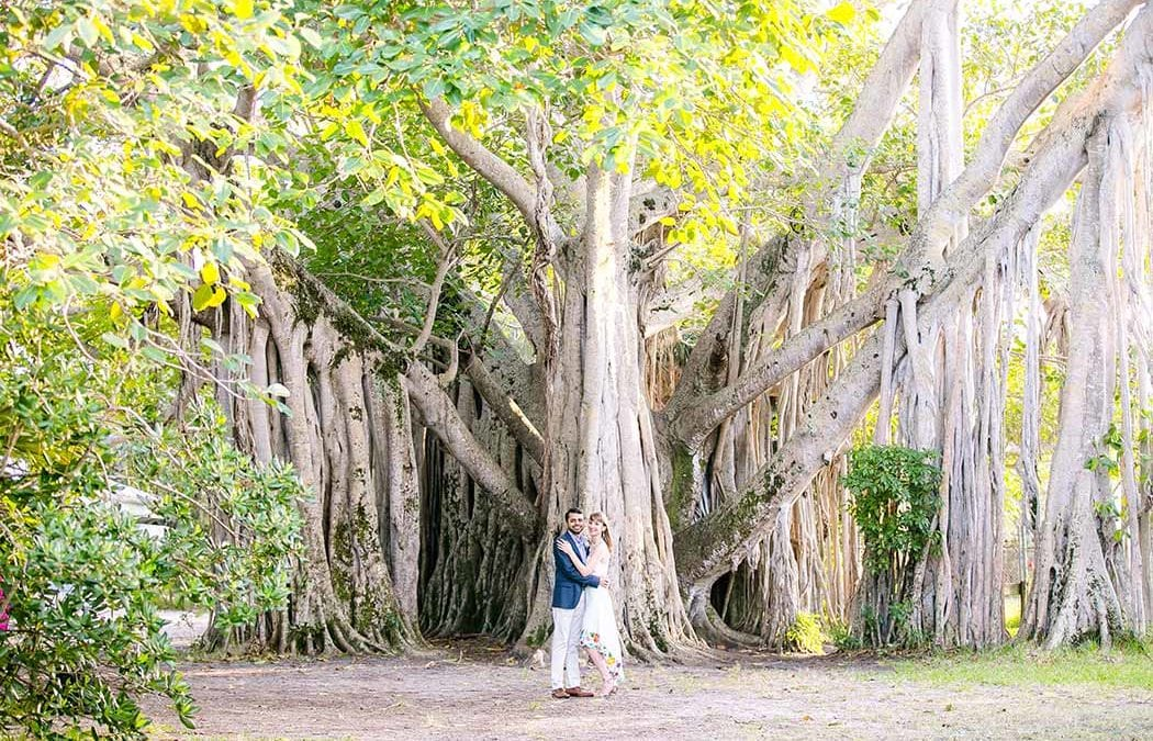 Hugh Taylor Birch State Park Engagement Session | Fort Lauderdale