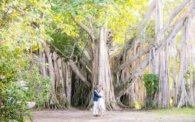 Hugh Taylor Birch State Park Engagement Session   Fort Lauderdale