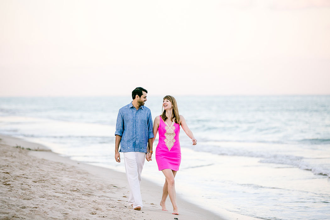 fort lauderdale beach engagement photoshoot | engagement photography fort lauderdale | indian engagement photographer fort lauderdale