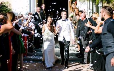 Modern + Elegant Miami Church Wedding   Coral Gables Congregational Church