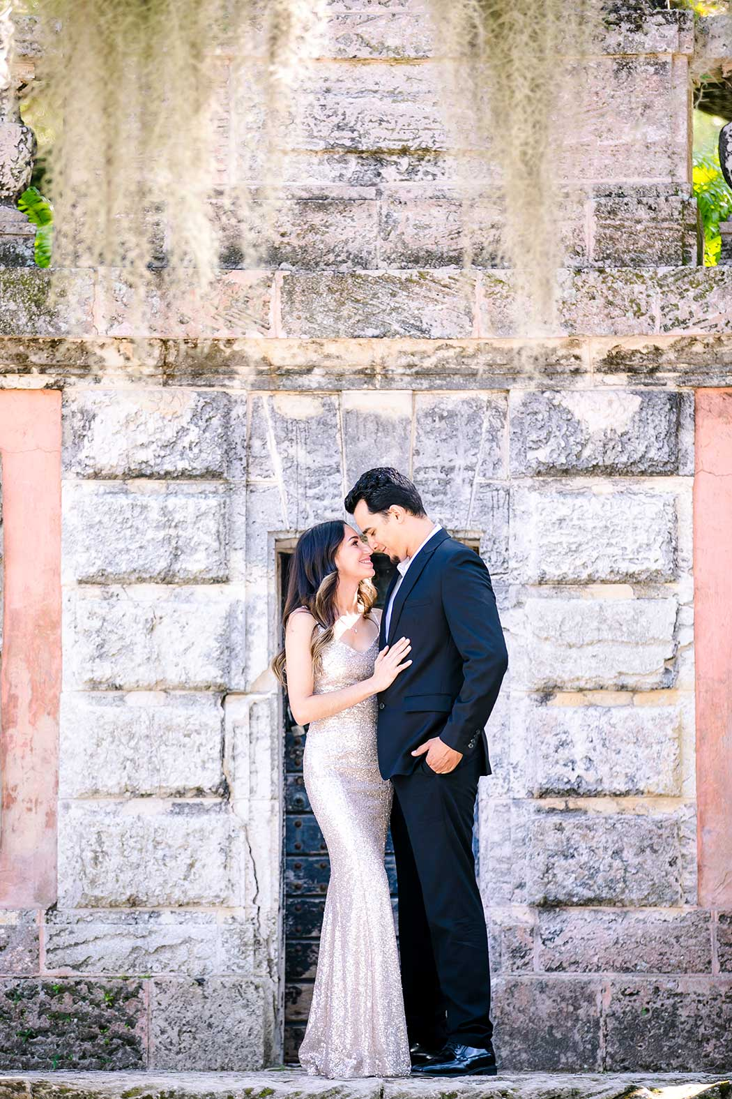 surprise proposal photoshoot at vizcaya miami | fort lauderdale engagement photographer | vizcaya engagement photoshoot
