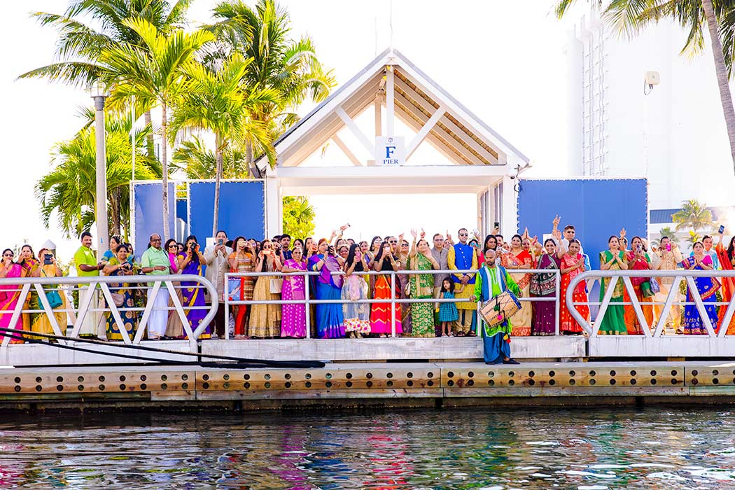 indian wedding baraat procession | fort lauderdale indian wedding