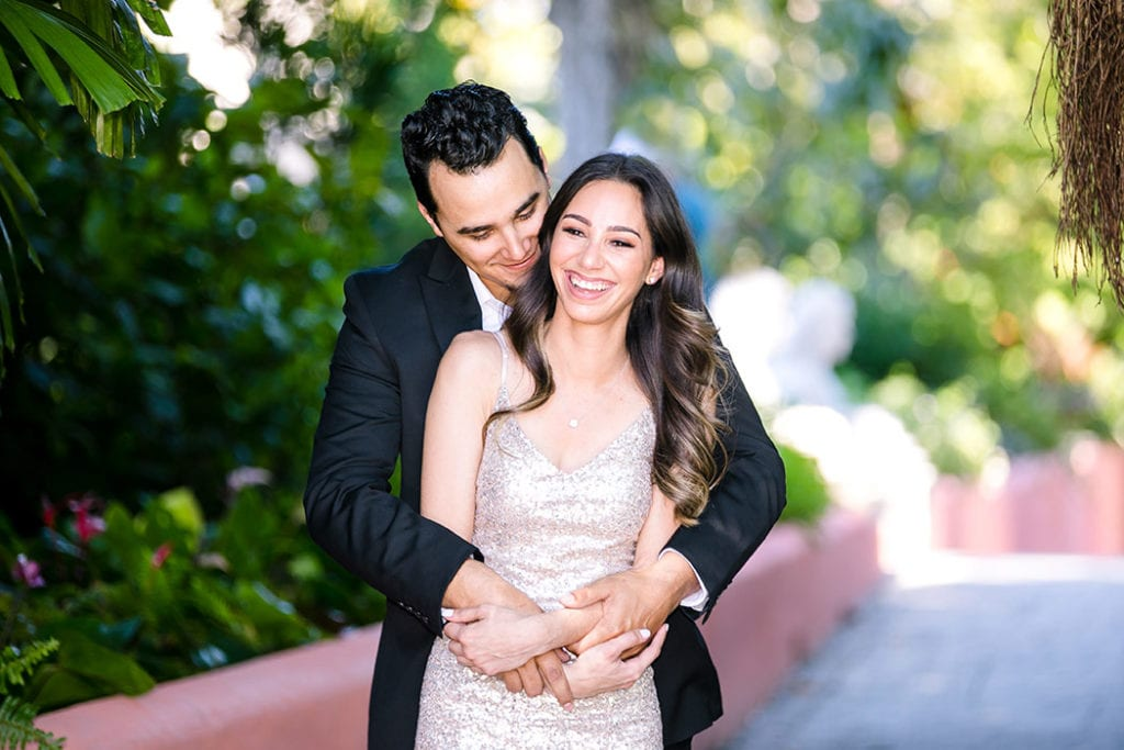 vizcaya engagement session for gallery