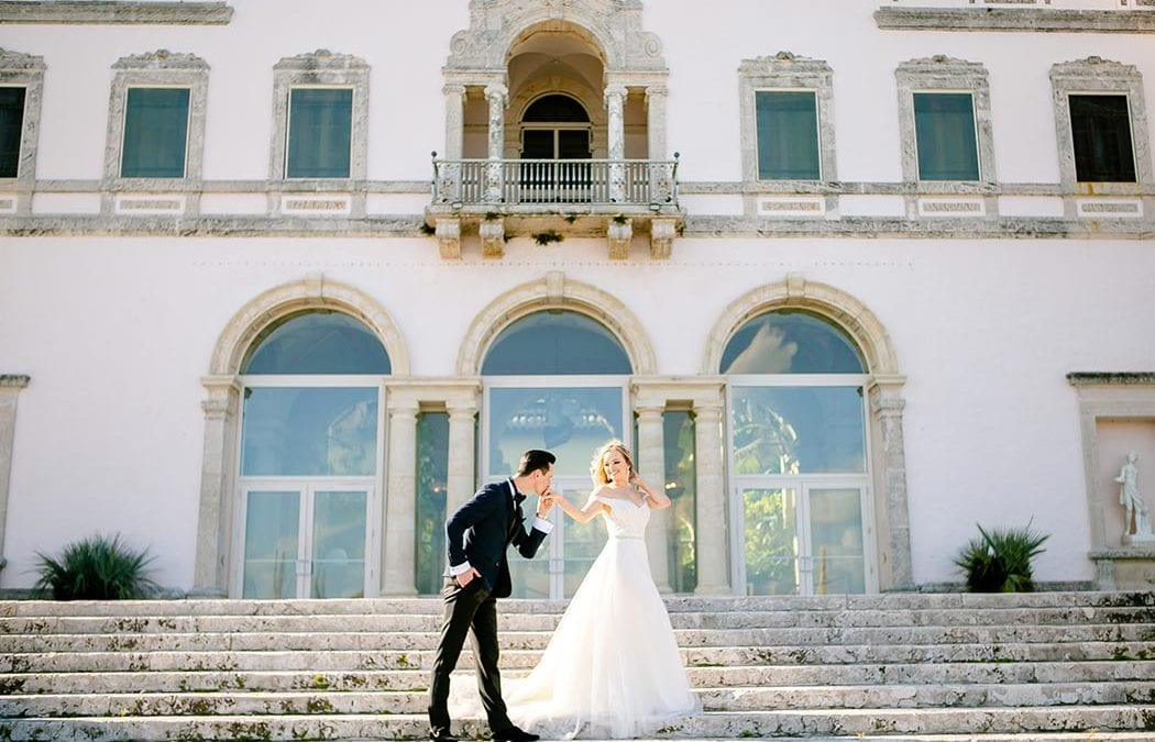Gorgeous Couple's Photoshoot | Vizcaya Museum Miami