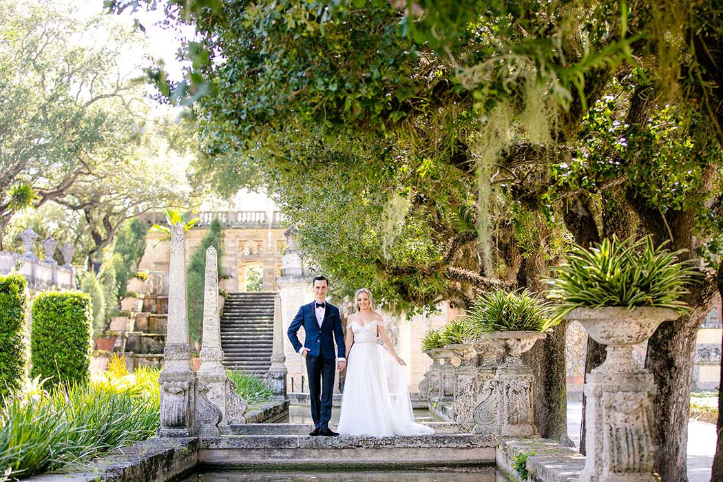 vizcaya engagement session | vizcaya couples photography | vizcaya bridal photography