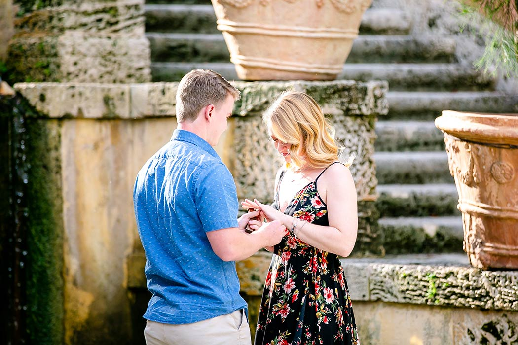 vizcaya engagement session | vizcaya couples photography | vizcaya proposal photography