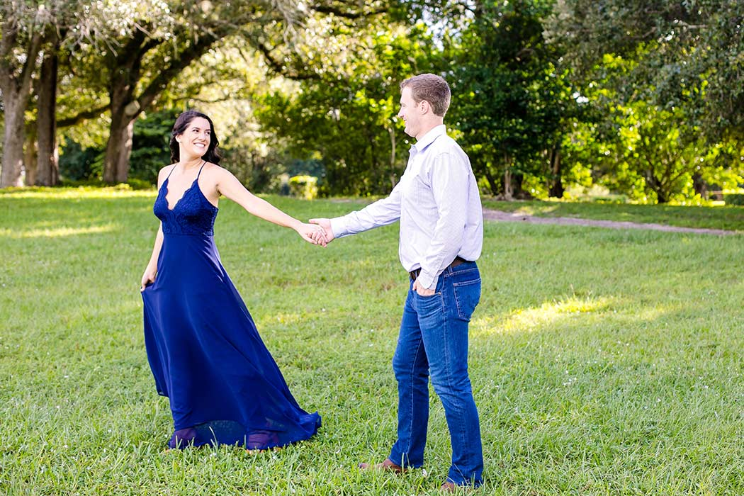 elegant engagement photoshoot robbins preserve | couples dancing photography | images of couples dancing | engagement photographer fort lauderdale | south florida engagement photographer