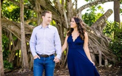 Elegant Engagement Photoshoot, Robbins Preserve Davie
