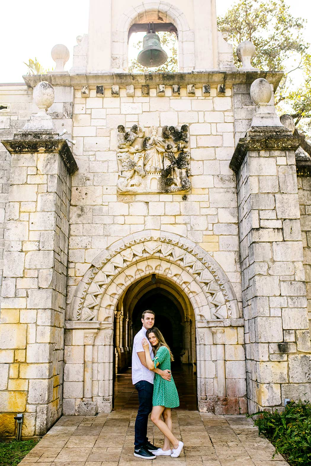 engagement photography at the ancient spanish monastery | andrea harborne photography | surprise marriage proposal ancient spanish monastery