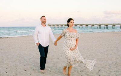Dania Beach Family Maternity Photoshoot | South Florida